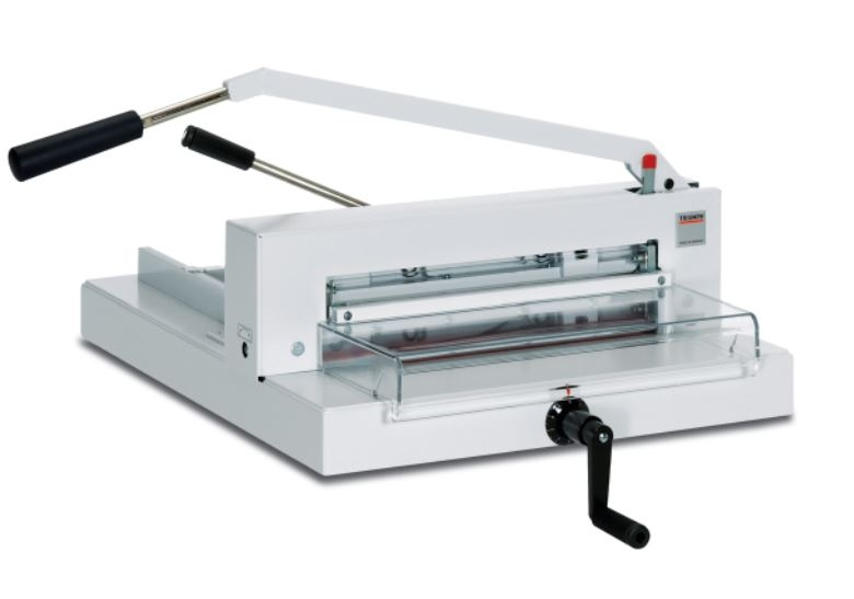 triumph paper cutter You can purchase and compare prices of this and many other products on our site at: http://wwwmybindingcom/brands/mbm/t take a look and if you have any questions feel free to give us a call toll-free at 1-800-944-4573 we have a huge selection of paper cutters and more from mbm you can also find.