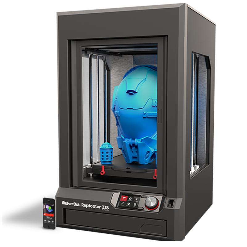 Makerbot Replicator Z18 3d Printer Abe Online