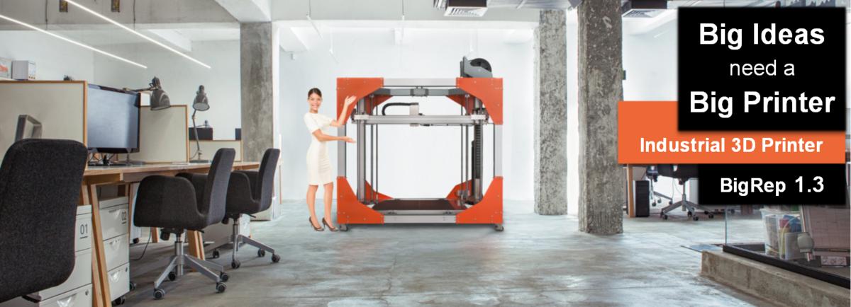 Big rep 3D printer
