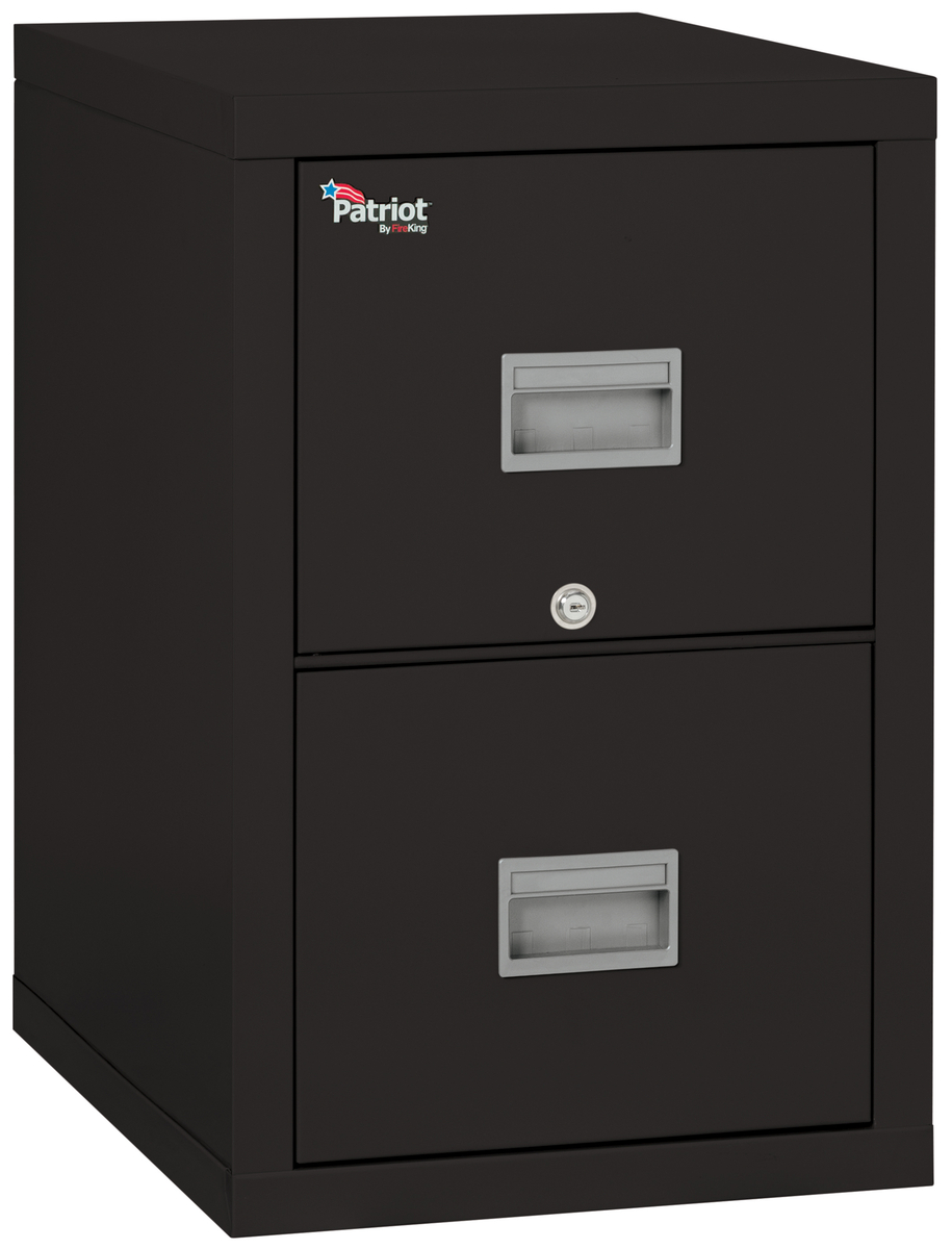 "Fireproof Fireking Patriot 2 Drawer 25"" Depth Vertical"