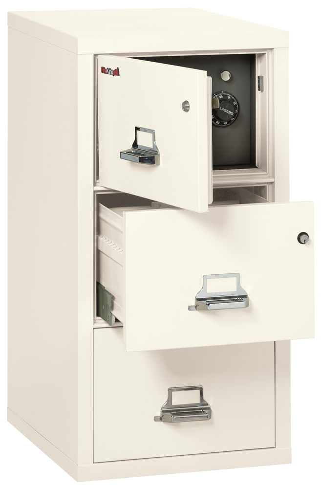 Fireproof Fireking 3 Drawer Legal Safe In A File Cabinet