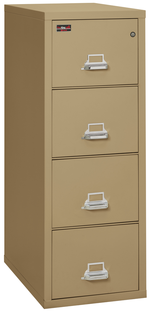 Fireproof Fireking 2 Hour Rated 4 Drawer Legal File