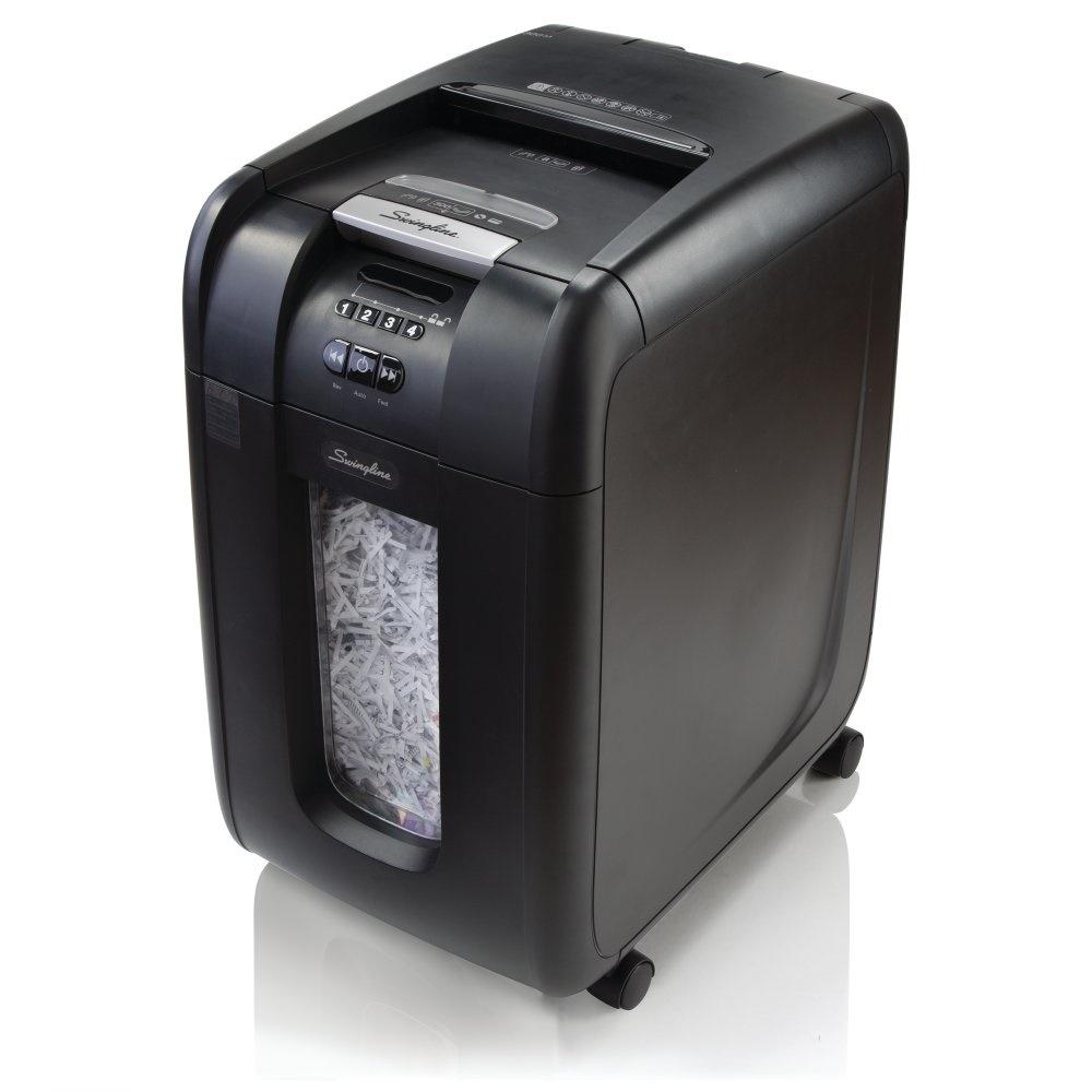 Auto paper shredder
