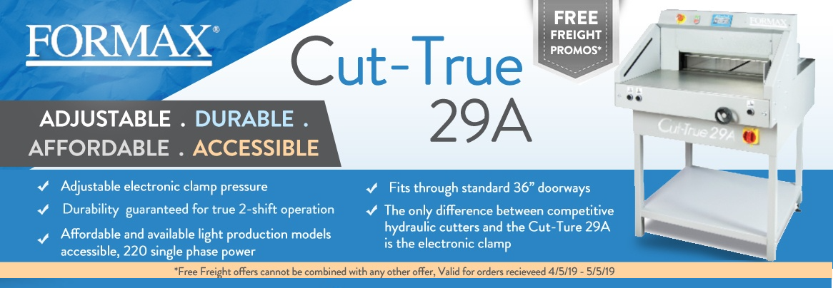 Formax Cut-true-29a Cutter