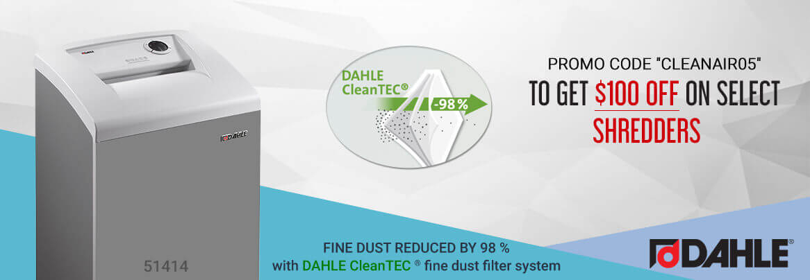 Dahle Cleantec Shredders promo