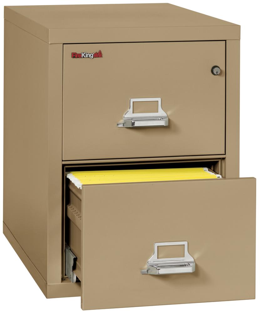 Fireproof Fireking 2 Drawer Vertical File Cabinet Legal