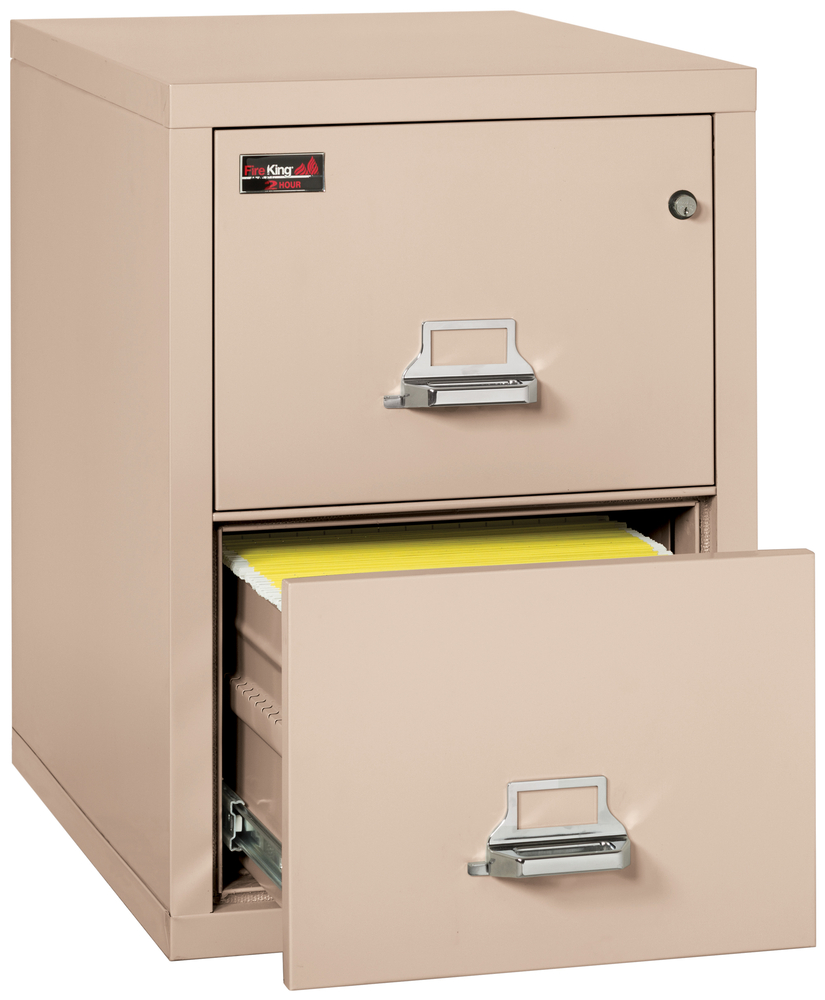 Fireproof Fireking 2 Hour Rated 2 Drawer Legal File