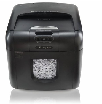 Swingline Stack-and-Shred 100X Auto Feed Paper Shredder, 200 Sheets
