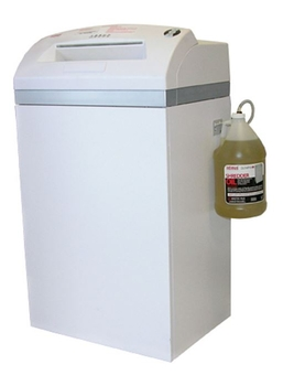 Intimus 120cc6 Level 6 Paper shredder package with oil and bags