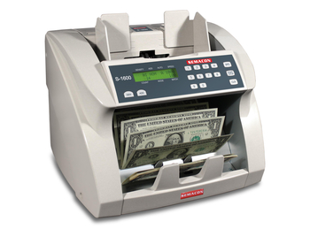 Semacon S-1625 Currency Counter with Batching UV/MG CF