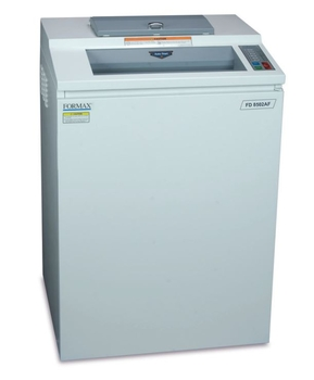 Formax 8502AF Autofeed Cross Cut paper shredder.