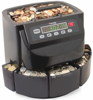 Image Cassida C200 Coin Counter/Sorter/Wrapper