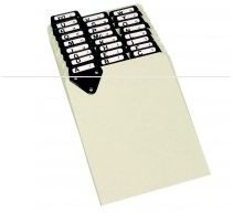 Master Posting Tray Index Set 8 11/42