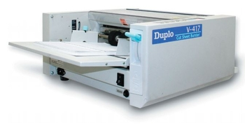 Duplo V417 Cut Sheet Forms Burster