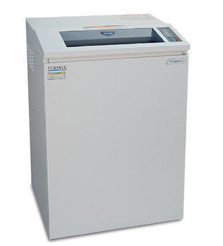 Formax FD8602CC Office Cross-Cut Shredder