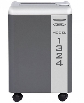 SEM 1324C/3 High Security NSA / CSS 02-01 Evaluated Paper Shredder