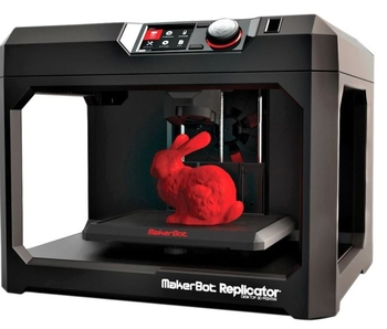 Image MakerBot Replicator Desktop 3D printer | Fifth Generation
