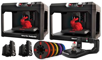 MakerBot Replicator Desktop 3D printer | Fifth Generation Educational Bundle
