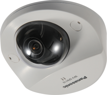 Image Panasonic WV-SFV110 Super Dynamic Security Camera