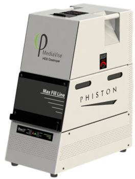 Image Phiston MediaVise Hard Drive Destroyer (MV-HDD)