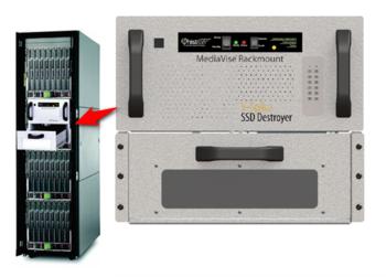 Image Phiston MediaVise® Rackmount V-Spike® Solid-State Drive Destroyer (MVR)