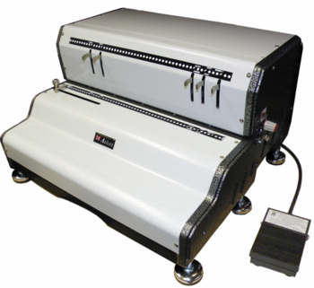 CoilMac-ECP Heavy duty Electric Professional Coil Punch Machine