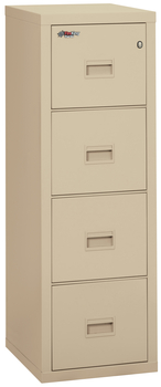 Image Fireproof Fireking 4 Drawer Vertical File Cabinet Letter