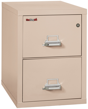 Image Fireproof Fireking 2 Drawer Vertical File Cabinet Legal