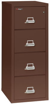 Fireproof Fireking 25 Vertical 4 Drawer Legal File Cabinet