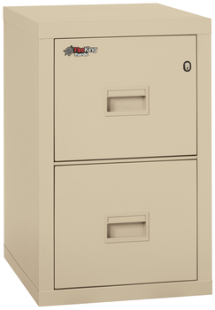 Image Fireproof Fireking Turtle 2 Drawer Vertical File Cabinet