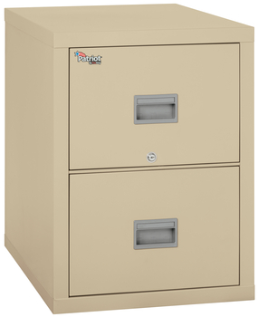 Image Fireproof Fireking Patriot 2 Drawer Vertical File Cabinet Letter