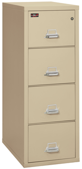 Fireproof Fireking 2 Hour Rated 4 Drawer Letter File Cabinet