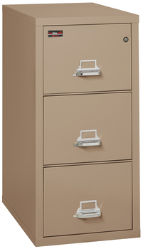 Fireproof Fireking 2 Hour Rated 3 Drawer Letter File Cabinet