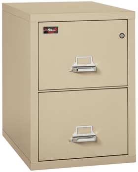 Image Fireproof Fireking 2 Hour Rated 2 Drawer Letter File Cabinet