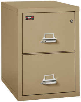 Fireproof Fireking 2 Hour Rated 2 Drawer Legal File Cabinet