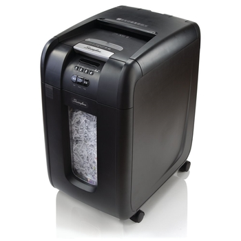 Swingline Stack-and-Shred 300X Auto Feed Paper Shredder, 300 Sheets