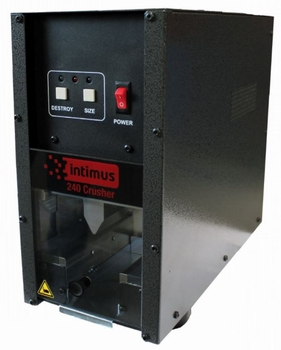 Image Intimus 240 Hard Drive Destroyer Crusher