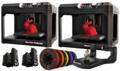 Image MakerBot Replicator Desktop 3D printer | Fifth Generation Educational Bundle