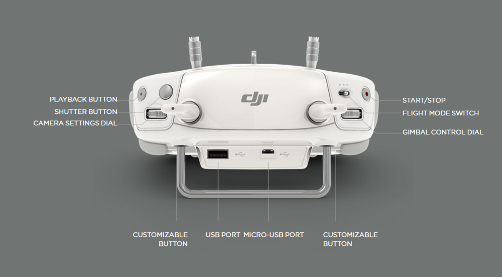Phantom 3 Professional Remote Specs
